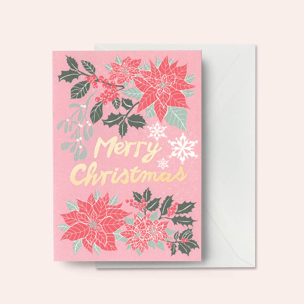 Merry Christmas - Pink