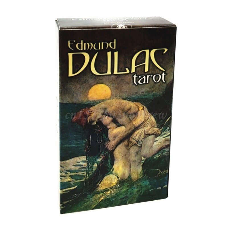Edmund Dulac Taros Cards Full English 78-Card Deck Oracle Party Divination Fate Board Game