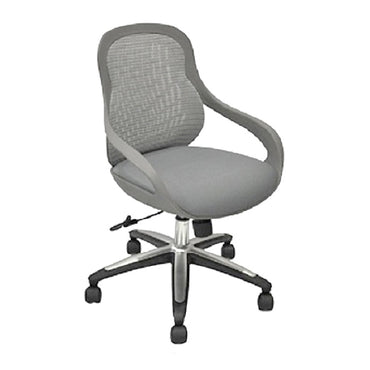 Mid Back Mesh Office Chair 010X Grey