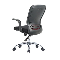 Mid Back Mesh Office Chair 01136 Black