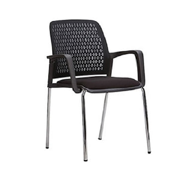 Low Back Mesh Chair 1161D Black