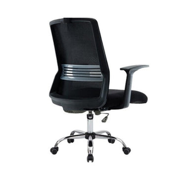 Mid Back Mesh Office Chair 1168 Black