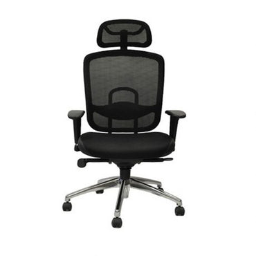 High Back Mesh Office Chair - 0180 Black
