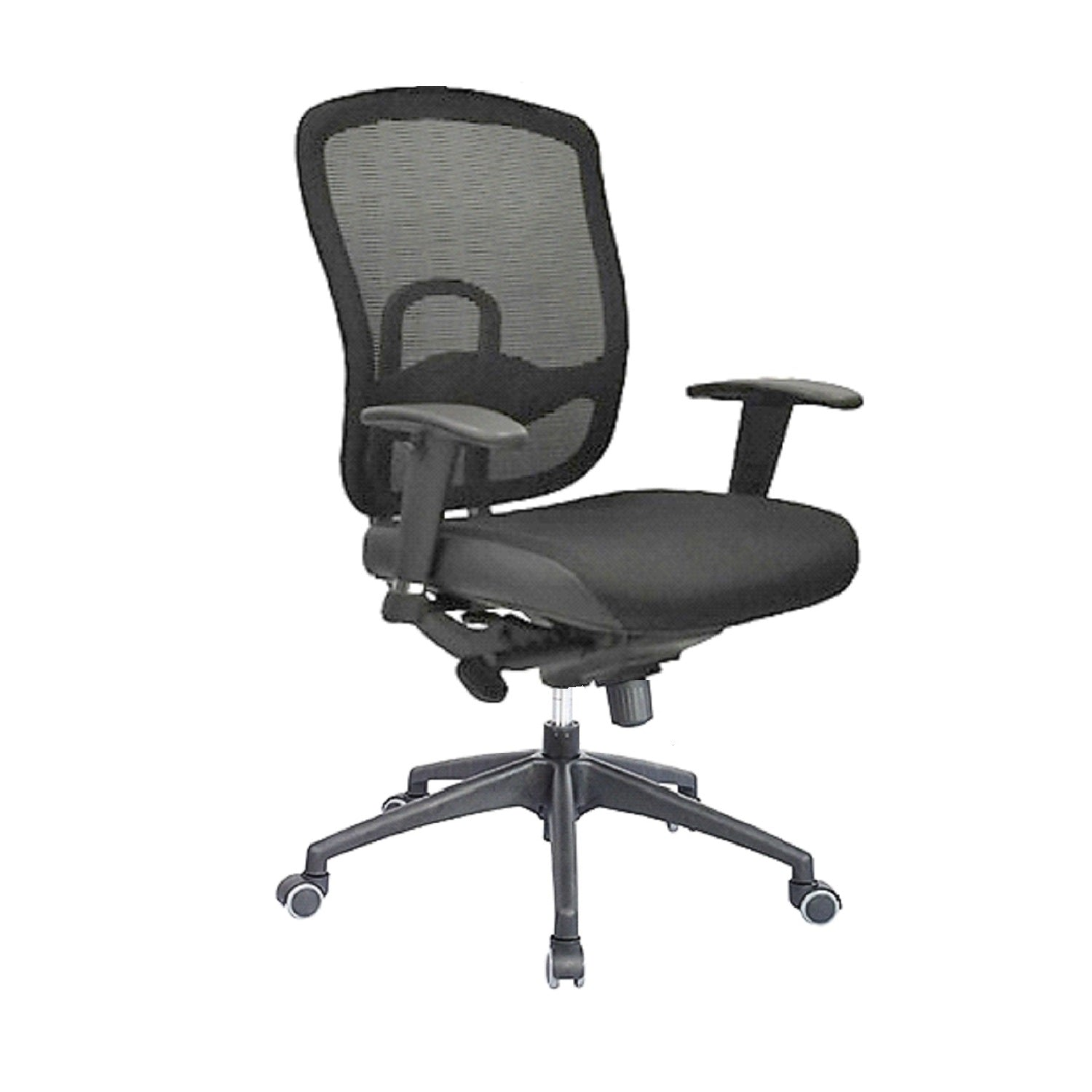 Mid Back Mesh Office Chair 180A Black