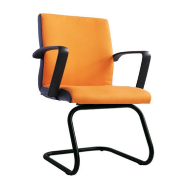 Low Back PU Leather Visitor Chair - UP1814VL