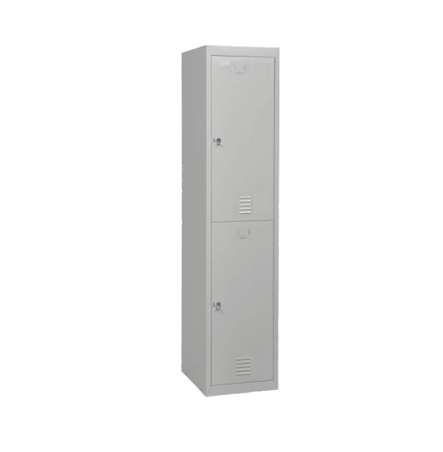 Two Compartments Metal Locker