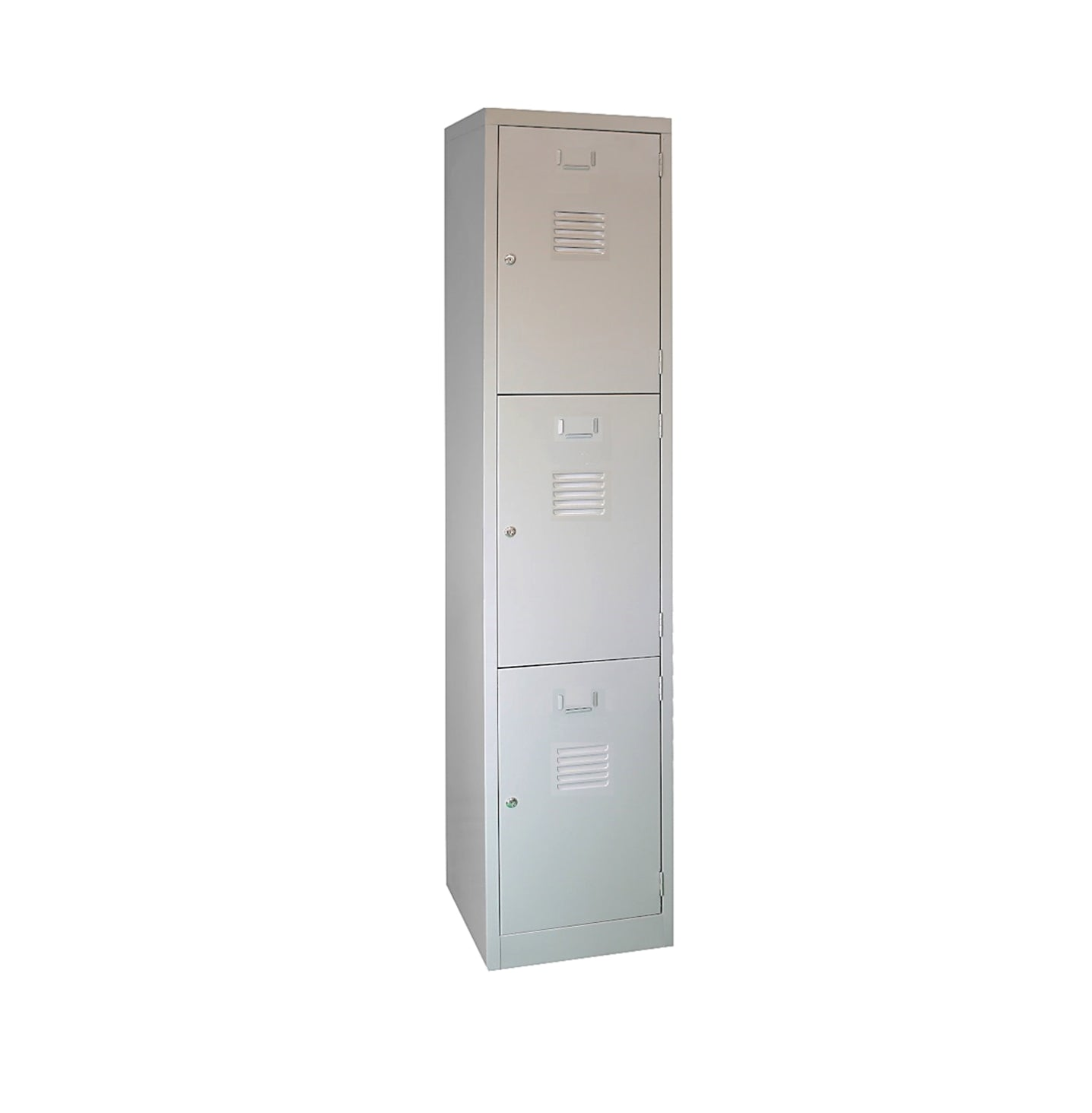 Three Compartments Metal Locker