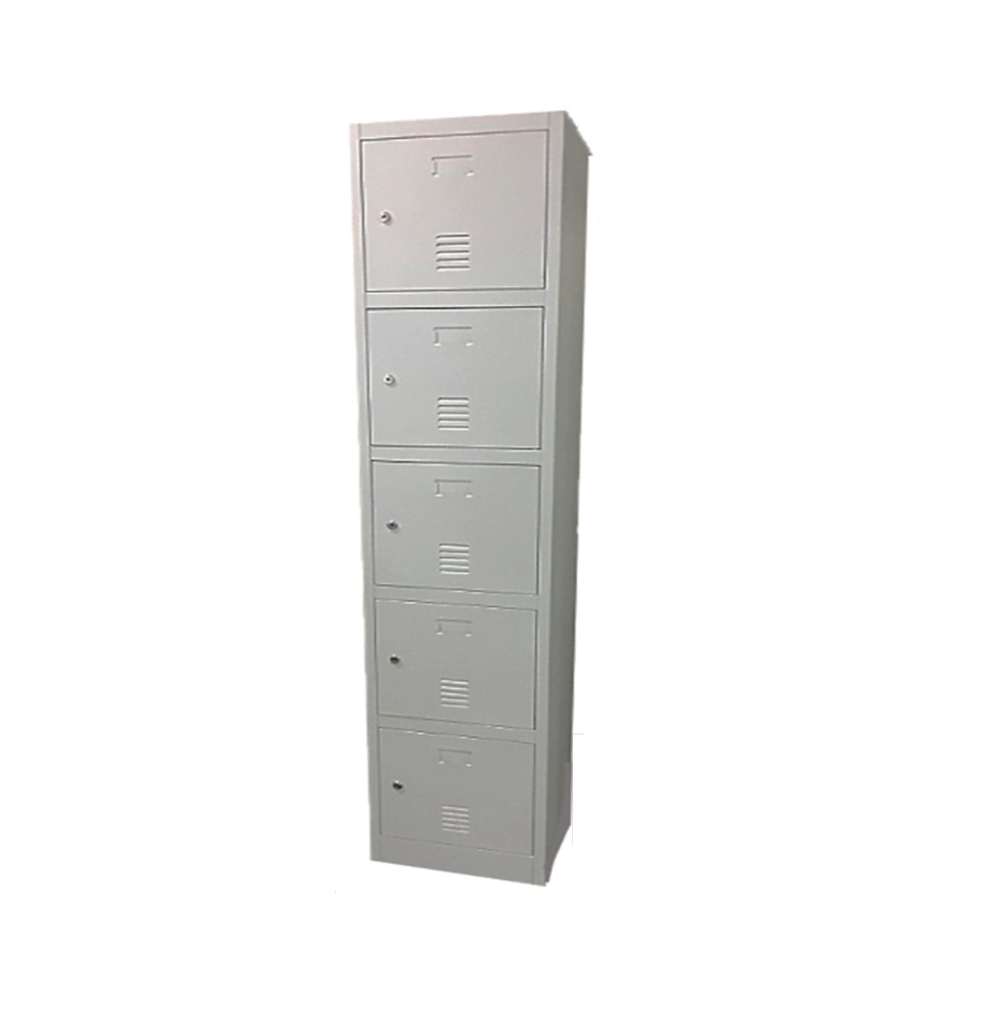 Five Compartments Metal Locker