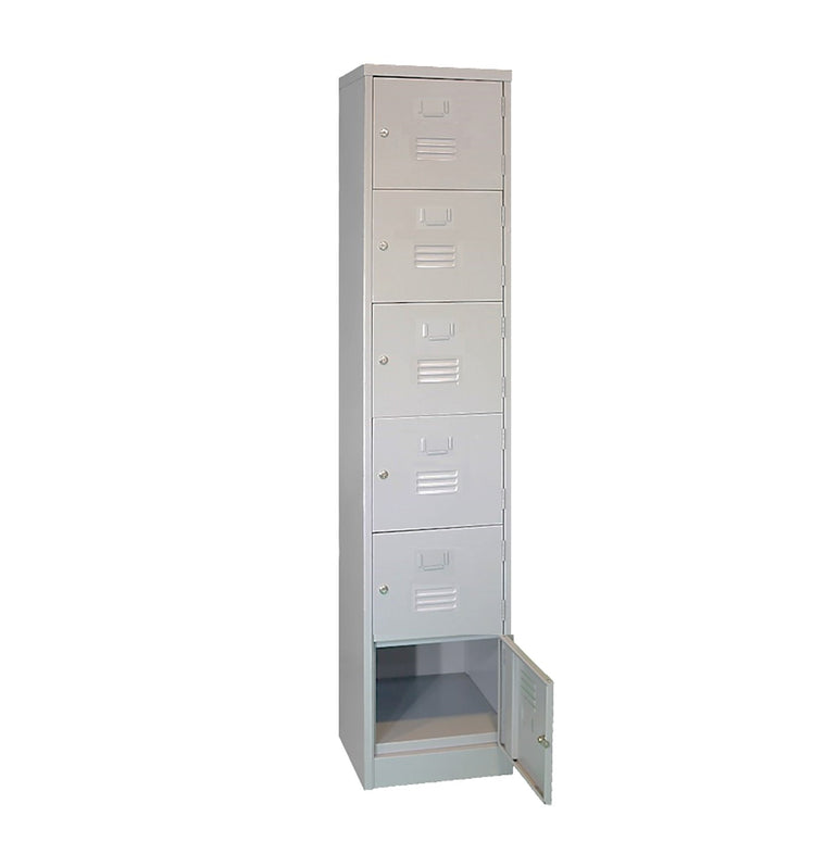 Six Compartments Metal Locker
