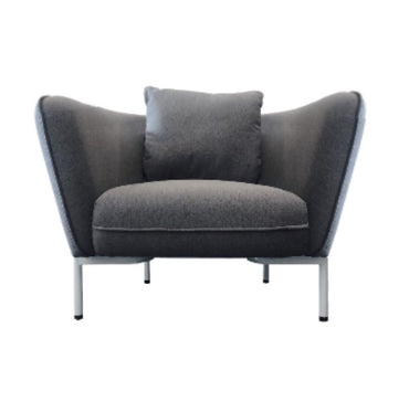 Fabric Armchair Grey NFS311