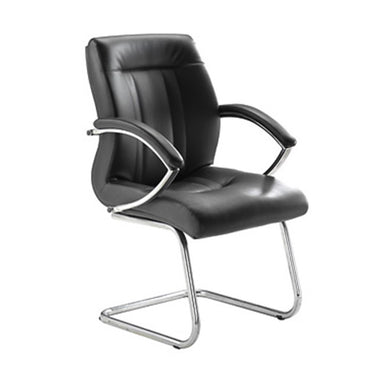 Low Back PU Leather Visitor Chair - CA9604VL
