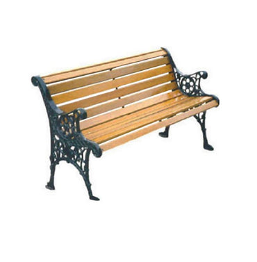 Cast Iron End Garden Bench – L1.2m