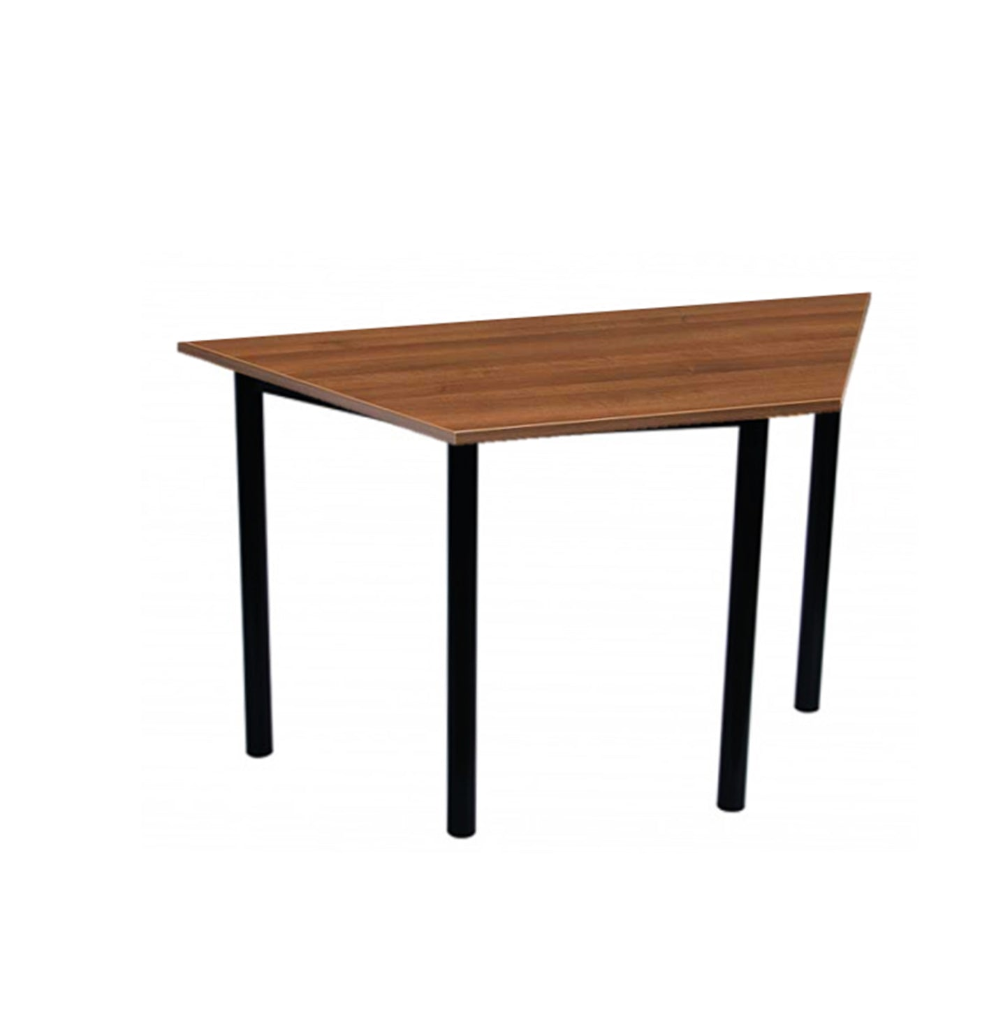 Wooden Trapezium Shape Table