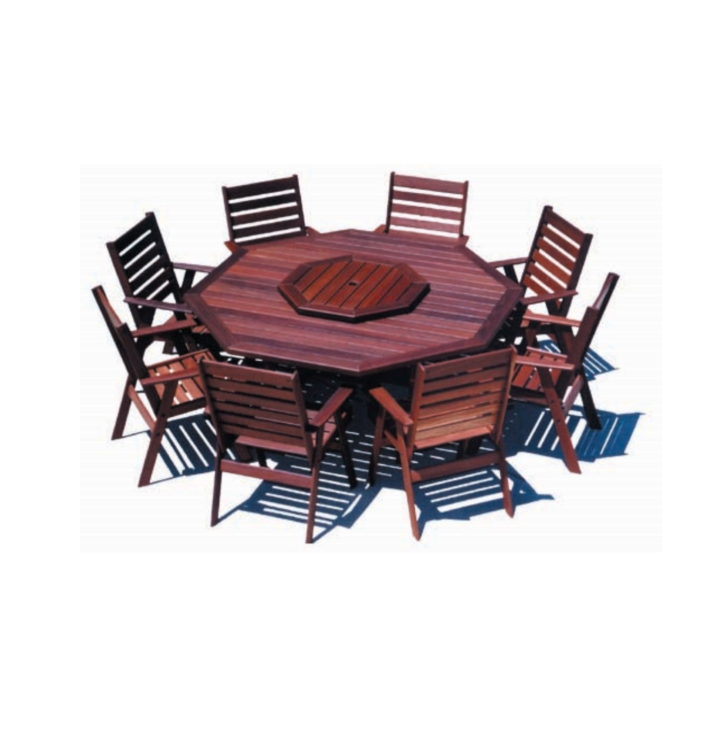 Dunsborough Octagon Jarrah Table