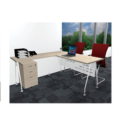 Executive Table With Metal 'A' Leg