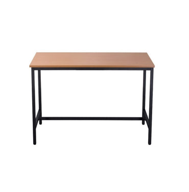 High Bar Table With Metal Frame