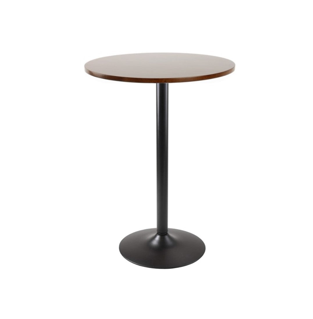 Round High Table With Trumpet Base