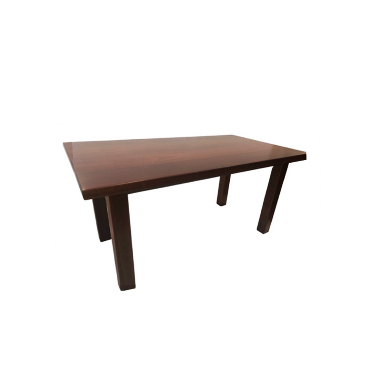 Metro Jarrah Timber Dining Table L145cm