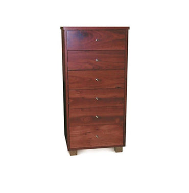 Rose Jarrah Timber Tallboy