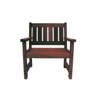 Jarrahdale Outdoor Single Seater Timber Bench
