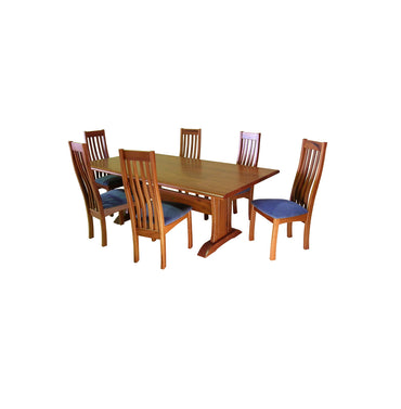 Leeuwin Jarrah Timber Dining Table (L206cm)