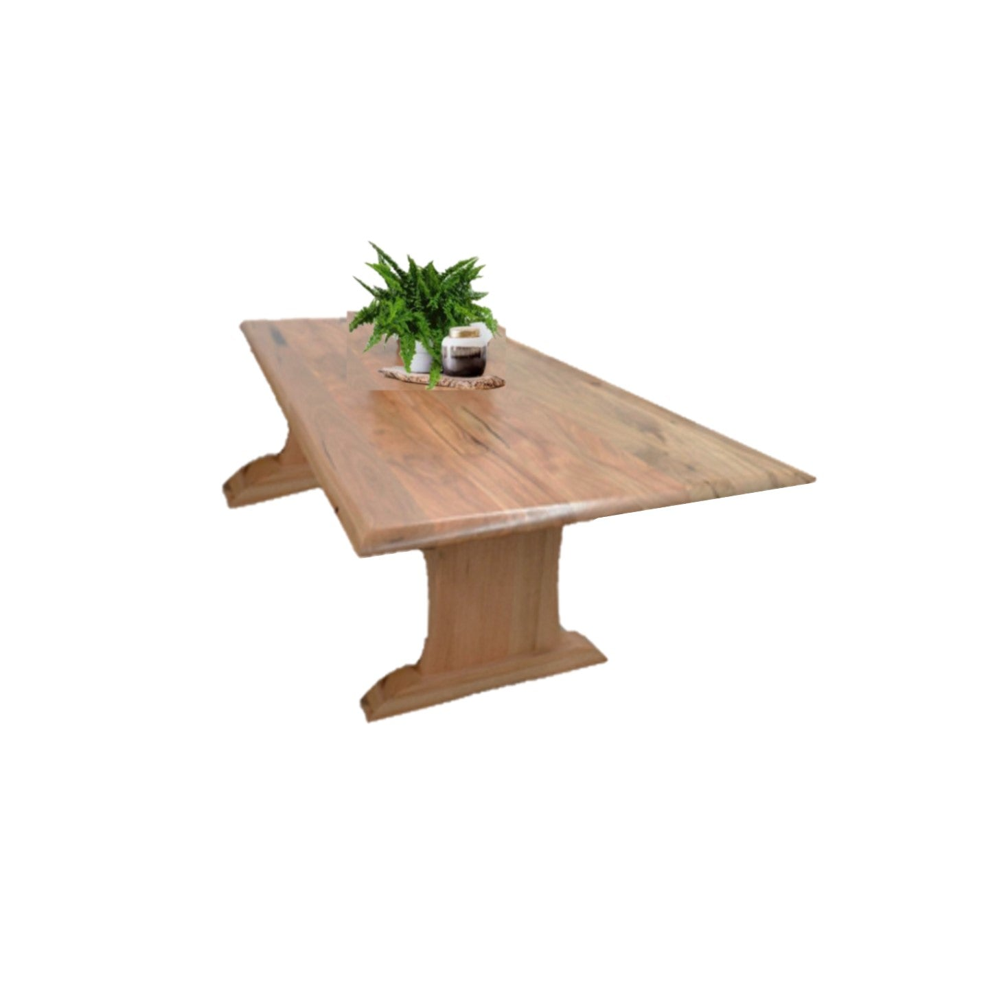 Leeuwin Marri Timber Dining Table (L232cm)
