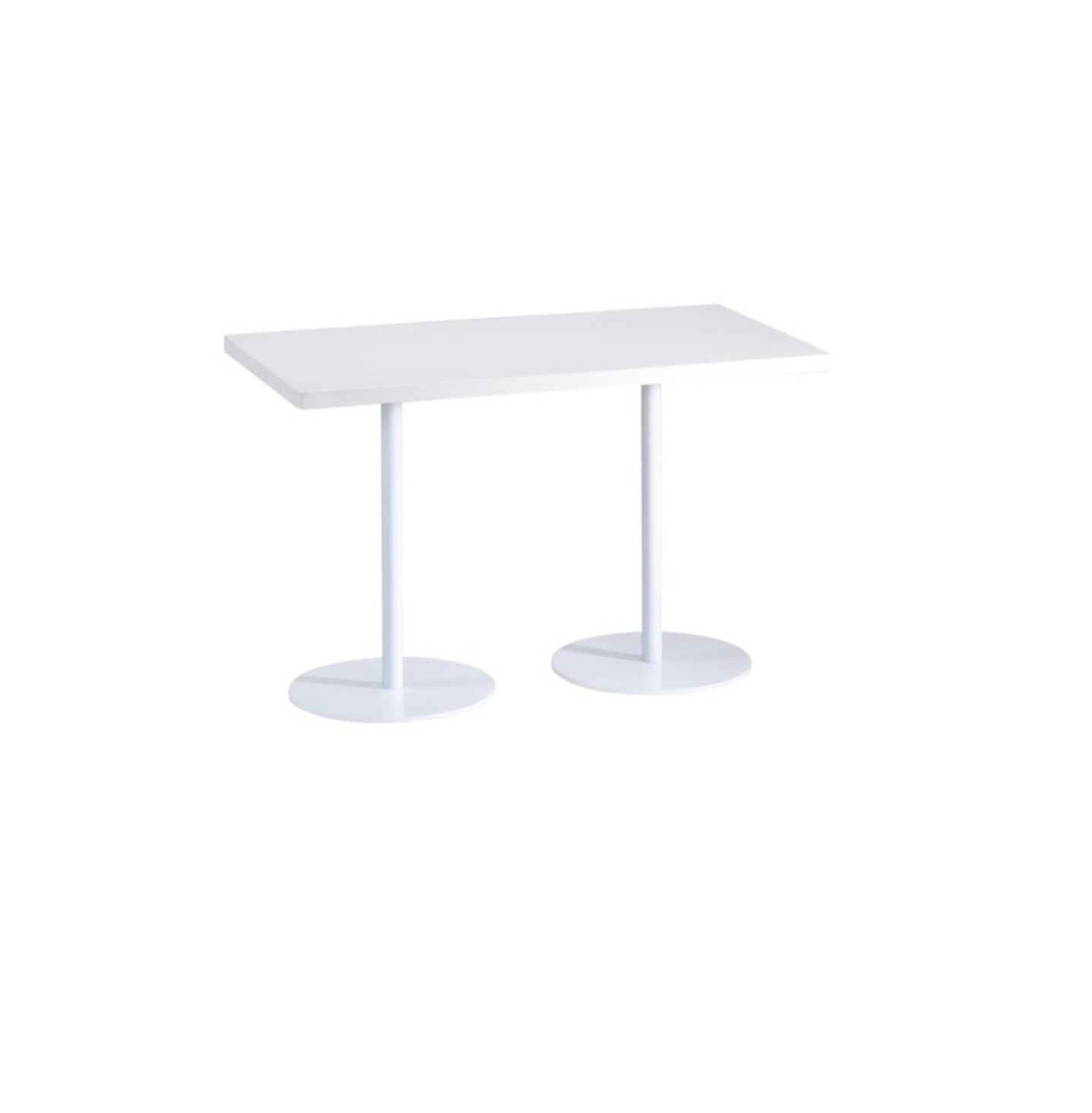 White Rectangular Lounge Table PV Series