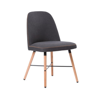 Fabric Dining Chair – 1901M Dark Grey