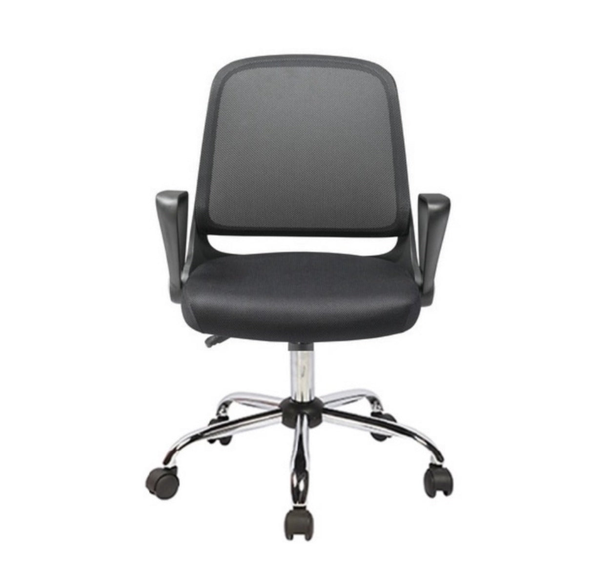 Low Back Mesh Office Chair 0158A Black