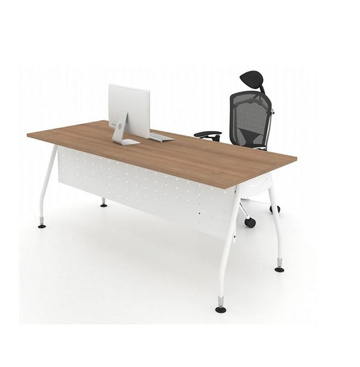 Office Table With Metal 'A' Leg Base