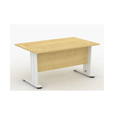 Office Table With Metal Dotta Leg