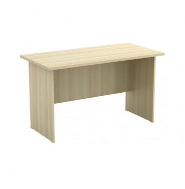 Office Table With Wooden Panel Base