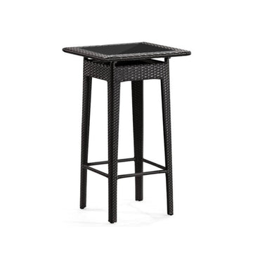 Square Rattan High Table L50cm