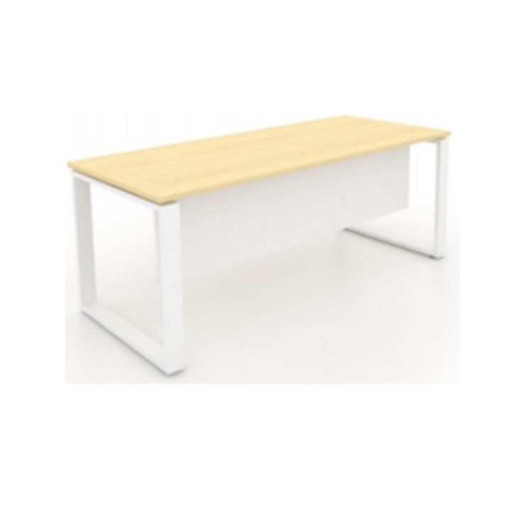 Office Table With Metal Perfetto Leg