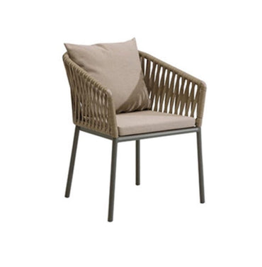 OUTDOOR RATTAN CHAIR WITH CUSHION