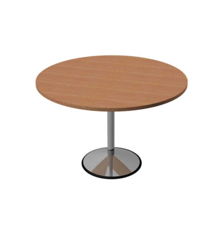Round Table With Chrome Base