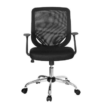 Mid Back Mesh Office Chair 0195 Black