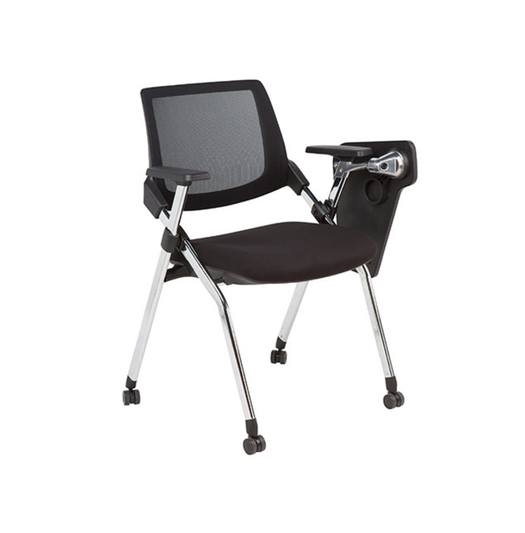 Foldable Training Mesh Chair – 01X16A (with tablet)
