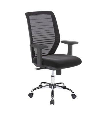 Mid Back Mesh Office Chair X015 Black