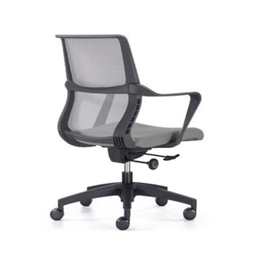 Mid Back Mesh Office Chair 1145B Grey