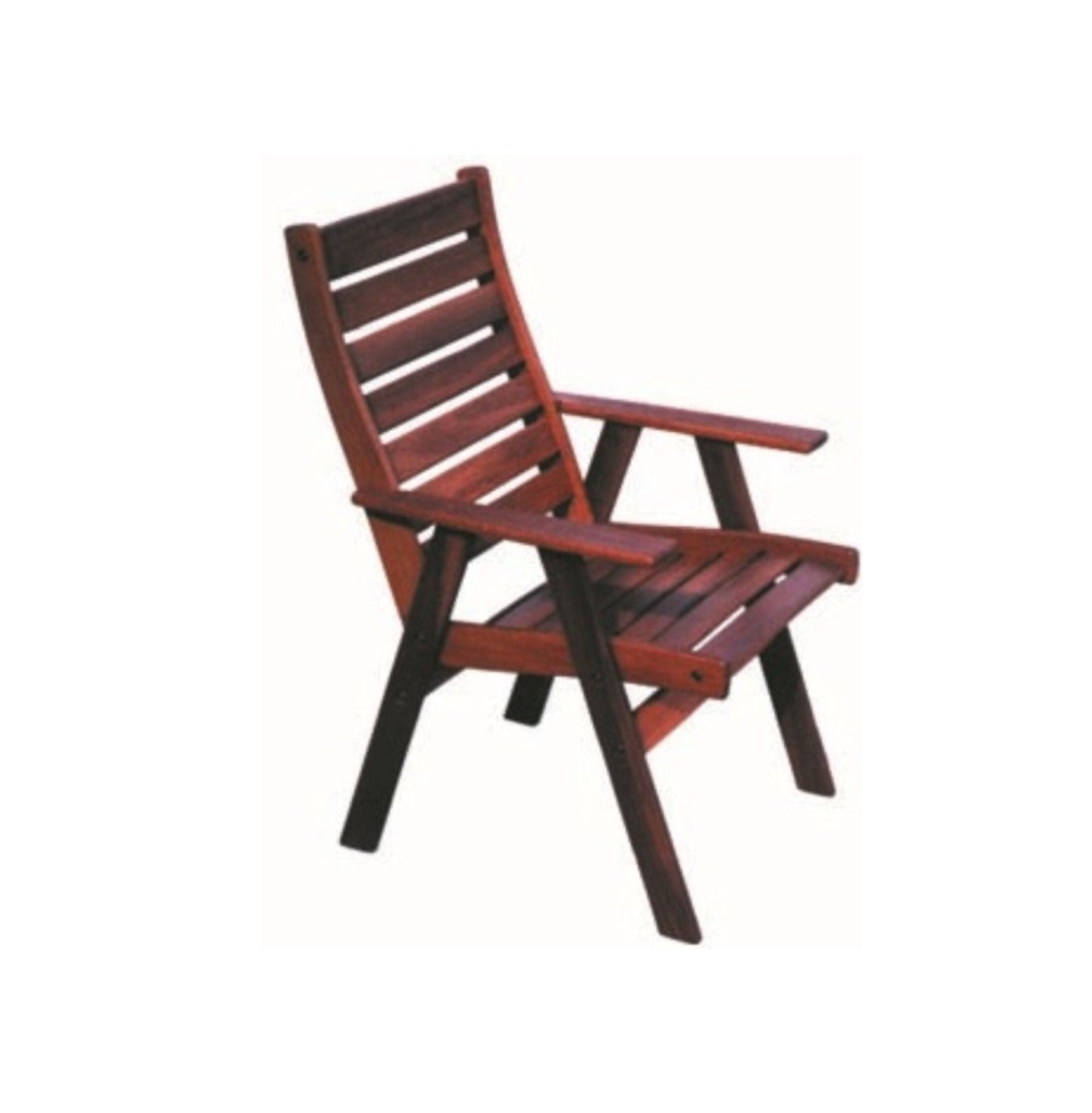 Outdoor Jarrah Timber York Chair