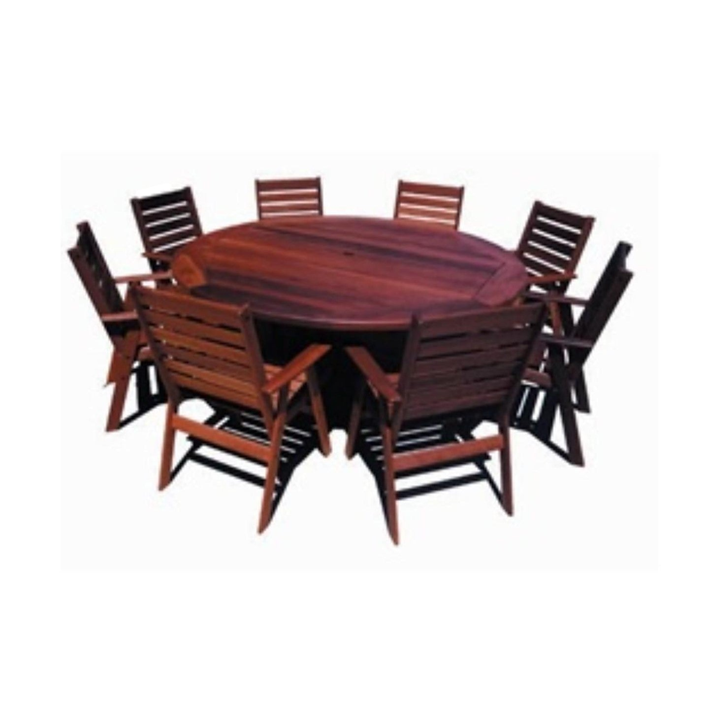 Argyle180 Jarrah Round Outdoor Table