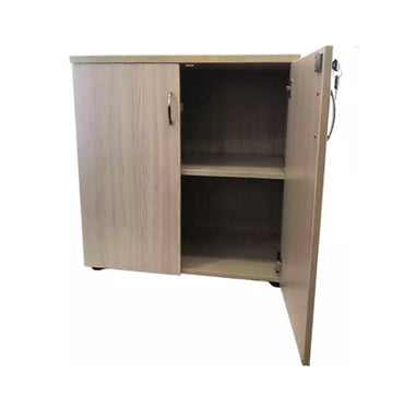 Low Swing Door Wooden Cabinet – Straight Pine