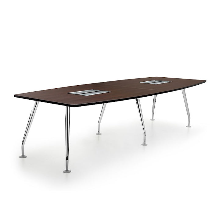 Conference Table With Chrome Spider Legs