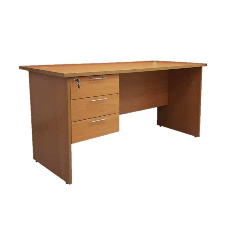 Office Table With 3 Drawers