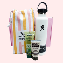 Load image into Gallery viewer, Peach Sorbet Summer time Pack White Hydroflask - Organic Aloe Vera - My Perfect Box