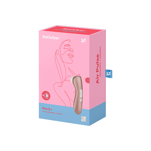 SATISFYER PRO 2 + WITH VIBRATION - Clitoral Stimulation - My Perfect Box