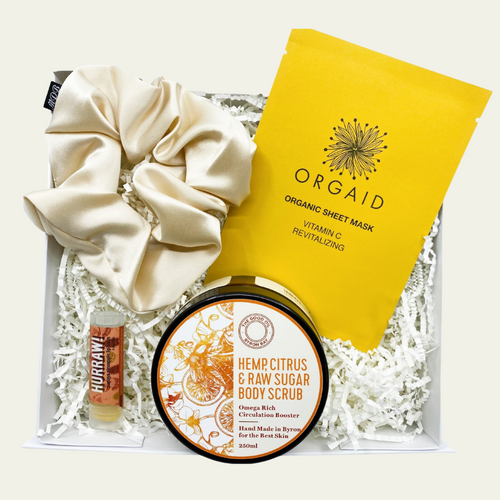 Hemp Citrus Face and Body Organic Pamper Pack - My Perfect Box