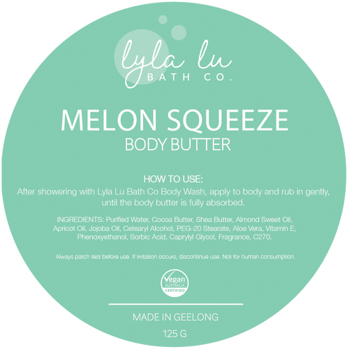 Melon Squeeze Body Butter 125g - My Perfect Box