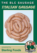 Load image into Gallery viewer, The BLC Sausage (16) 4 oz. links